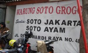 Soto Jakarta A.K.A Soto Jenggot