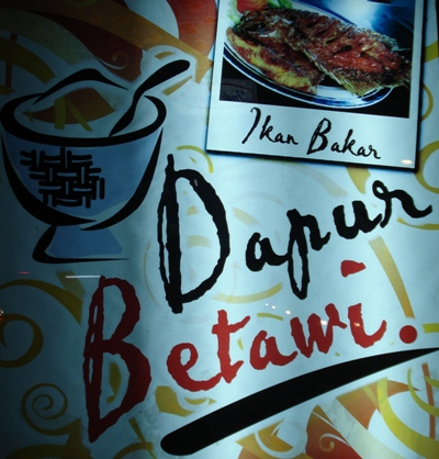 Dapur Betawi masakan Batavia minus Gabus Pucung