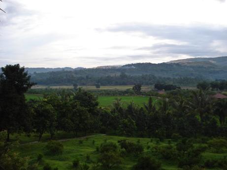 Suasana Kawasan Pasir Mukti saat dipotret menjelang pagi 2009