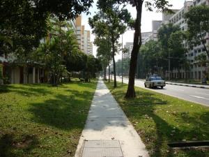 Jogging Track also available- dipertahankan untuk tidak serakah mengambil tanah resapan