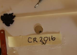 Rplacing CR2016-3v