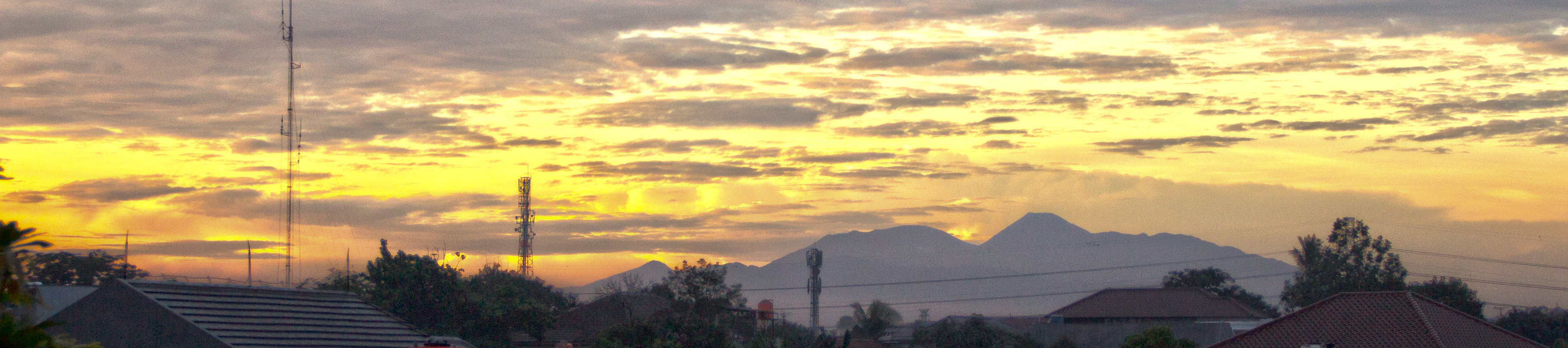 SALAK MOUNTAIN from my home